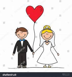 Cute Cartoon Couple Drawing Vector Characters Stock ...