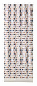 Longueur Rouleau Papier Peint : papier peint happy harlequin 1 rouleau larg 53 cm ~ Premium-room.com Idées de Décoration