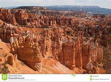 Landscape Of Bryce Canyon National Park, Utah, USA Royalty