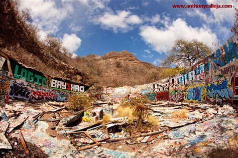 abandoned graffiti reservoir diamond head anthony calleja