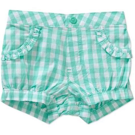 garanimals newborn baby girl plaid shorts  walmart