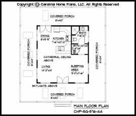 Woodwork Cabin Plans Under 600 Square Feet PDF Plans