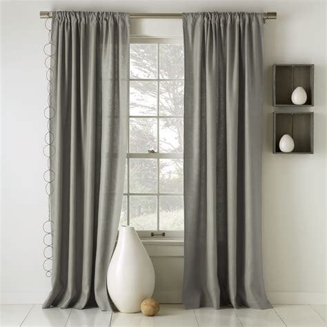 lined cotton curtains curtain ideas