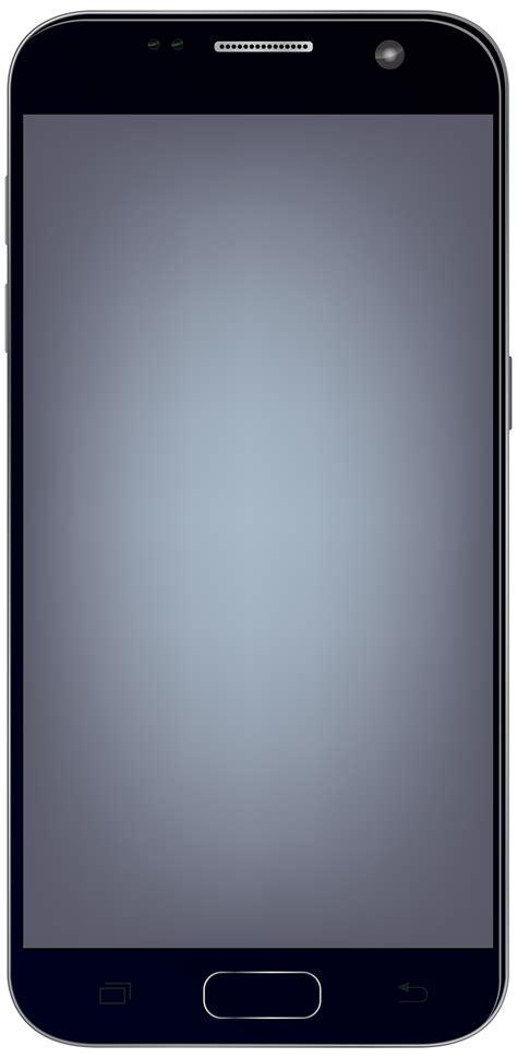 Large Smartphone PNG Clip Art Image   Best WEB Clipart