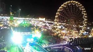 Vista Panor U00e1mica Nocturna De La Feria De M U00e1laga 2012 Desde