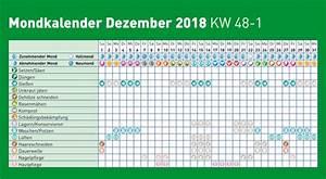 Blumen Gießen Mondkalender 2017 : mondkalender 2018 dezember immergr n ~ Lizthompson.info Haus und Dekorationen