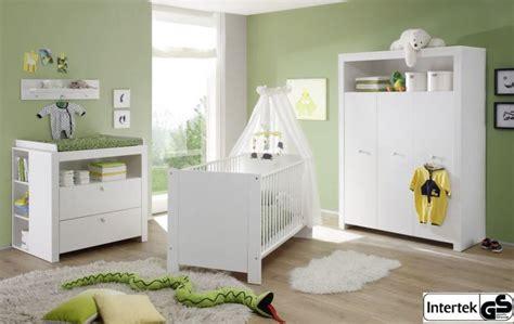 Babyzimmer Komplett Set Olivia Weiss 5teilig Real