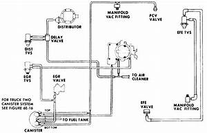 Need A Vacuum Hose Diagram For A 1976 Chevy Pick