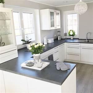 Beistelltisch Weiß Landhaus : instagram landhaus k che kitchen modern grau ~ Watch28wear.com Haus und Dekorationen