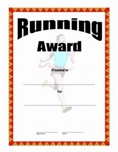 certificate of achievement in running three certificate With running certificates templates free