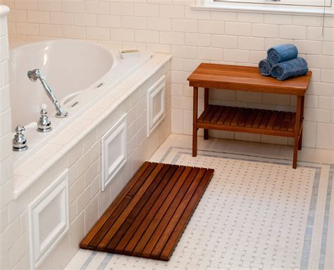 Bamboo Shower Mat: Elegant And Easier To Clean ? The Homy