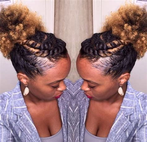25 best ideas about easy natural hairstyles on pinterest