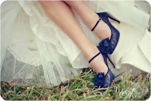 blue shoes for wedding blue wedding shoes with dots ipunya