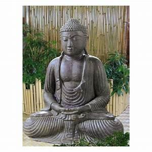 Buddha Figuren Garten Günstig : japanischer buddha lavagu figuren skulpturen garten japanwelt ~ Bigdaddyawards.com Haus und Dekorationen