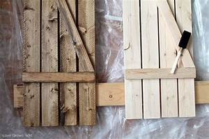 Diy barn wood shutters love grows wild for Barn board shutters