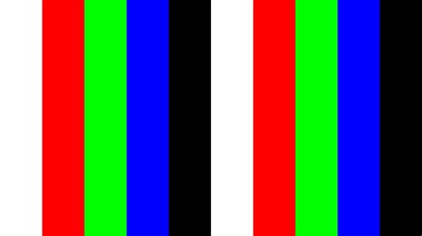 the color test 4k 2160p uhdtv monitor test 10min bright color
