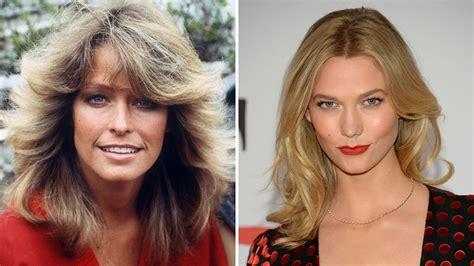 Farrah Fawcett Karlie Kloss Hairstylist Garren