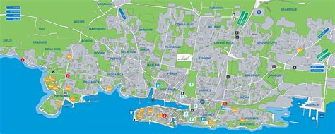 cuisine free large zadar maps for free and print high