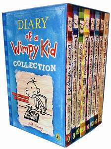 Diary Of A Wimpy Kid Collection 8 Books Set Third Wheel