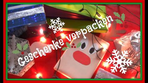 geldgeschenke weihnachtlich verpacken geschenke kreativ verpacken f 252 r weihnachten