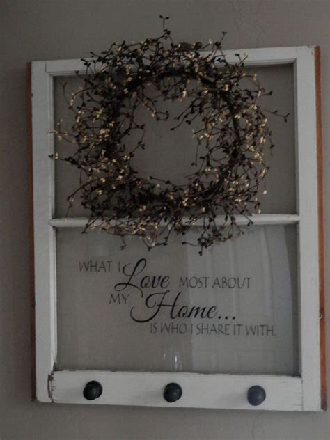 hometalk repurposed  window  shelf decoration