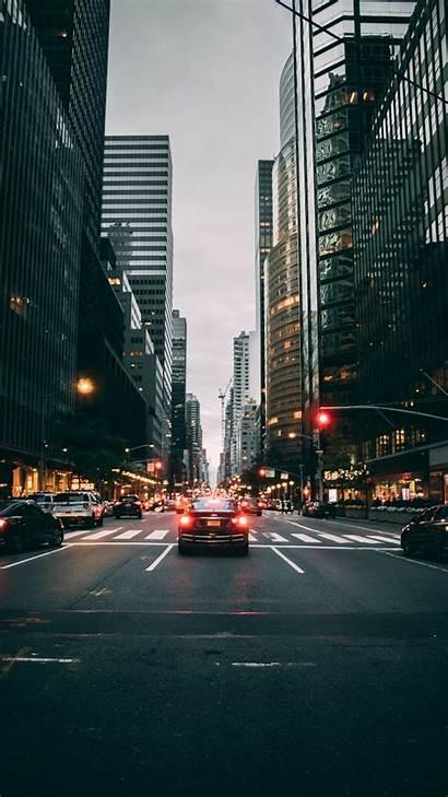 Street York Road Buildings Cars Traffic Unsplash