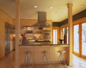 kitchen islands with posts contemporary kitchen by brand architecture