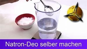 Natron Gegen Schweiß : natron deo spray gegen schwei geruch selber machen youtube ~ Orissabook.com Haus und Dekorationen
