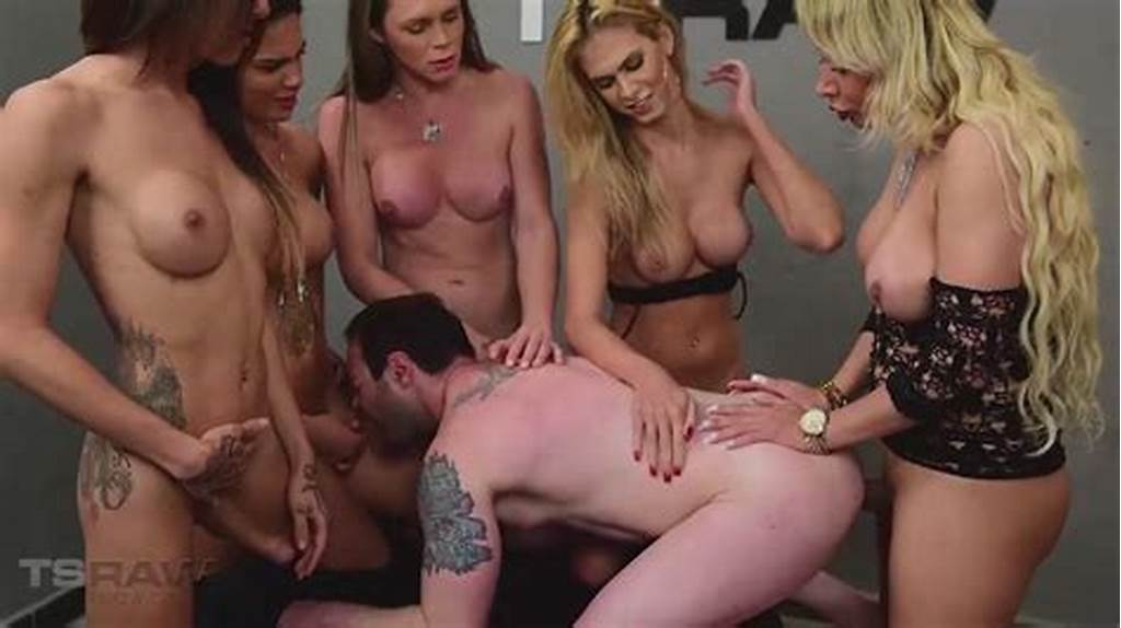#Five #Hot #Latina #Trannies #Fuck #This #Lucky #Guy #In #A #Crazy