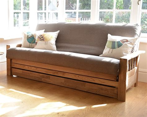 wide  bed drawer futon company