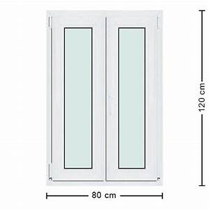 Dimensions Standard Fenetre : fen tre pvc 80x120 menuiserie standard 2 vantaux pas ch re ~ Melissatoandfro.com Idées de Décoration