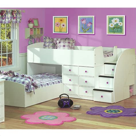 L Shaped Bunk Beds Ikea by L Shaped Bunk Beds With Futon Bedroom Ideas Pictures