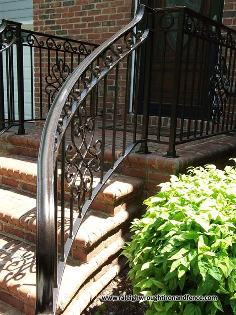 custom wrought iron residential railings raleigh wrought iron