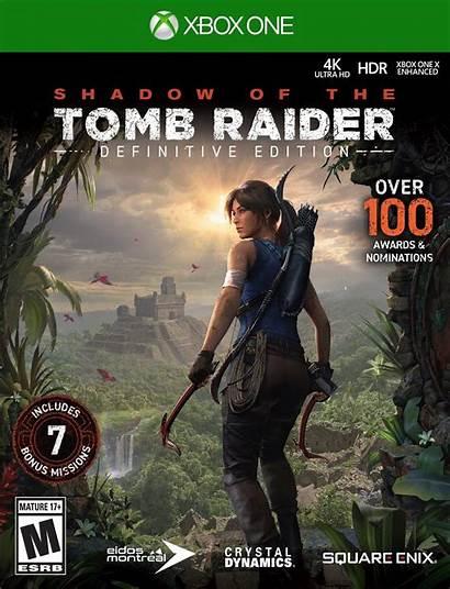 Tomb Raider Xbox Shadow Definitive Edition Games