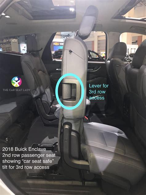 car seat lady buick enclave