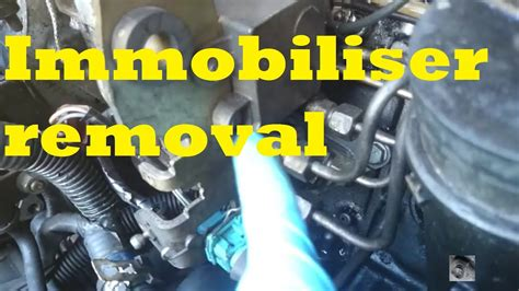 Peugeot 806 Immobiliser Wiring Diagram by How To Immobiliser Removal Peugeot Citroen Xud Turbo