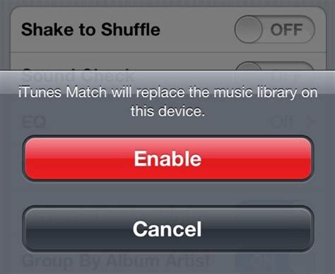 how to undisable an iphone without itunes how to enable itunes match on your iphone or ipad all for How T