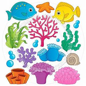 coral cartoon   Coral Reef Clip Art http://www.toonvectors ...