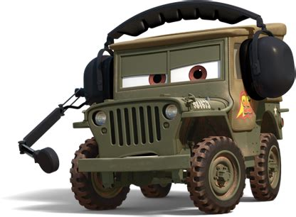 Cars 2 Sarge by Sarge World Of Cars Wiki