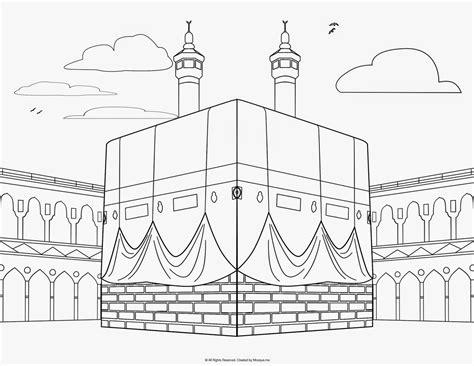 gambar mewarnai islami anak tk dan sd terbaru 2020