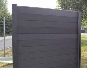 Wpc Platten Günstig : g nstig wpc zaun dunkelgrau bestellen kp ~ Orissabook.com Haus und Dekorationen