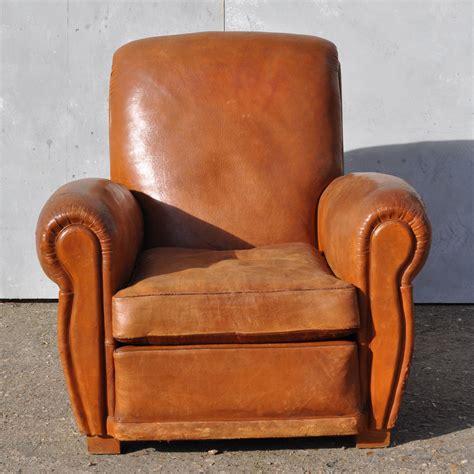 vintage arm chair antique leather club arm chair loire 3159