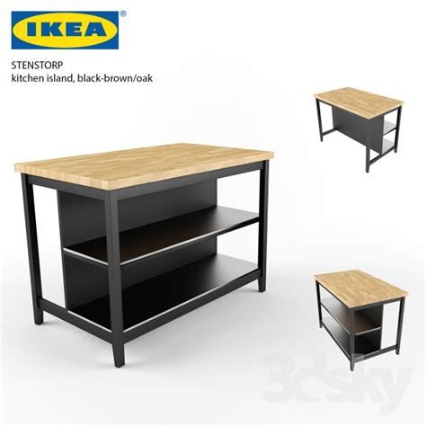 buy kitchen island 3d models table ikea stenstorp kitchen island