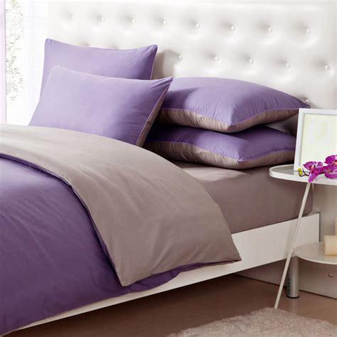 teinture housse canapé 3 4pcs lumière de pur coton violet gris assortis