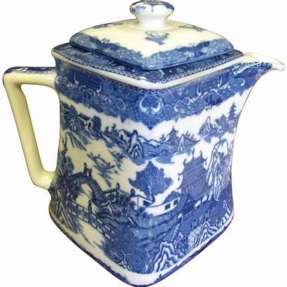 Willow Teapot China Unusual