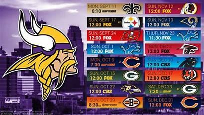 Vikings Minnesota Desktop Schedule Wallpapers Backgrounds Football