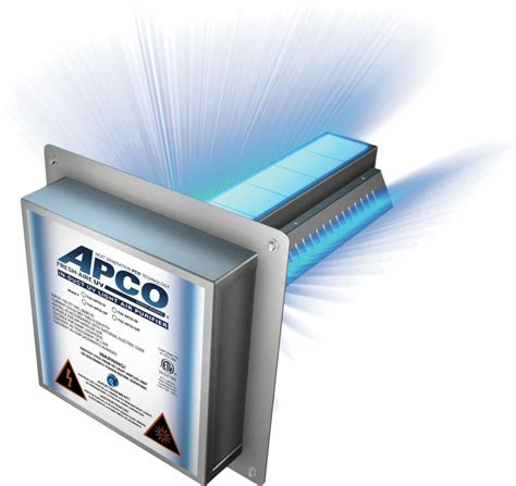 apco uv air purifier fresh aire tuv apco activated