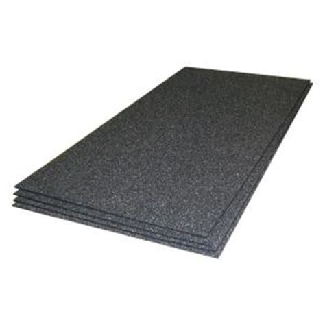Tile Underlayment Membrane Home Depot by Thermosoft Cerazorb 2 Ft X 48 In X 3 16 In Synthetic