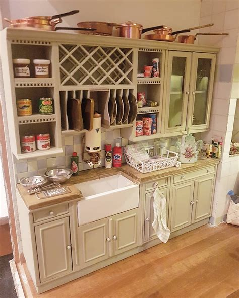 kitchen dollhouse furniture the kitchen counter in maison de how all those