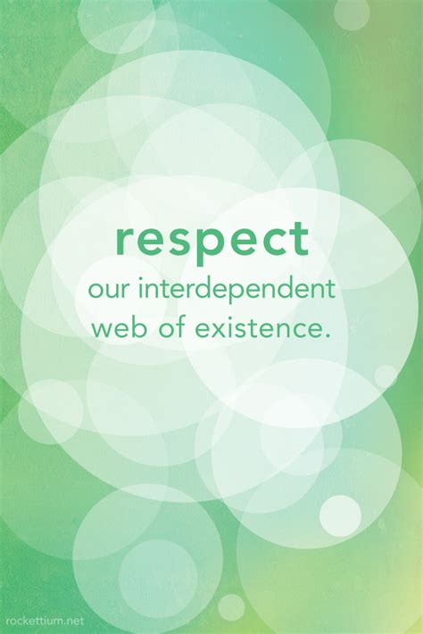7th Principle: Respect for the Interdependent Web of All ...